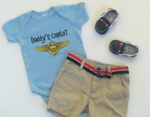 Daddys Copilot Outfit