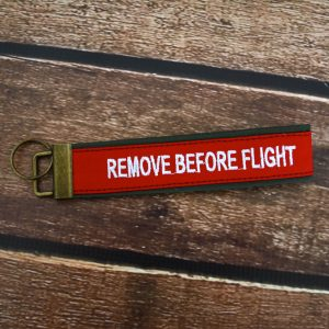 Remove Before Flight Wristlet